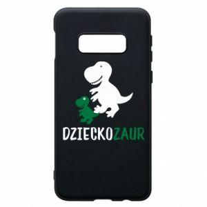 Samsung S10e Case Son dinosaur