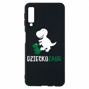 Samsung A7 2018 Case Son dinosaur