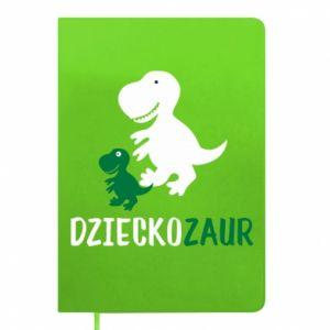Notepad Son dinosaur