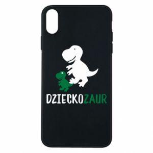 iPhone Xs Max Case Son dinosaur