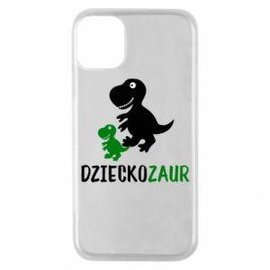 iPhone 11 Pro Case Son dinosaur