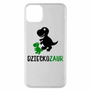 iPhone 11 Pro Max Case Son dinosaur