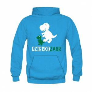 Kid's hoodie Son dinosaur