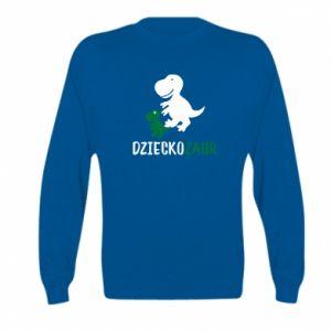 Kid's sweatshirt Son dinosaur