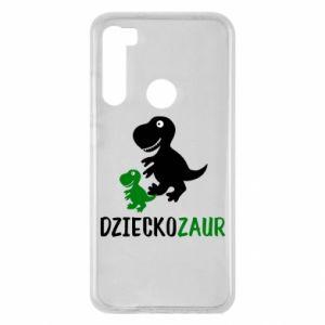 Xiaomi Redmi Note 8 Case Son dinosaur