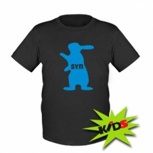 Kids T-shirt Son - Bunny