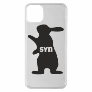 Etui na iPhone 11 Pro Max Syn - królik