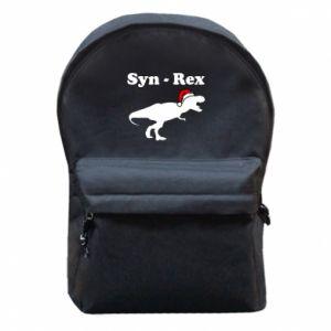 Plecak z przednią kieszenią Syn - rex