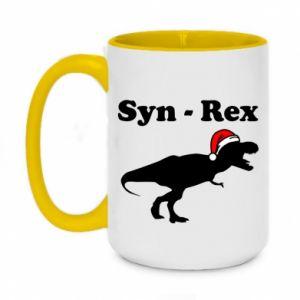 Kubek dwukolorowy 450ml Syn - rex
