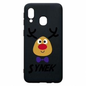 Etui na Samsung A40 Synek