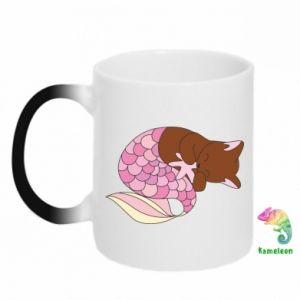Kubek-magiczny Syrenka Cat