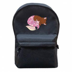 Plecak z przednią kieszenią Syrenka Cat