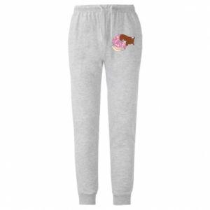 Spodnie lekkie męskie Syrenka Cat