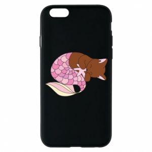 Etui na iPhone 6/6S Syrenka Cat