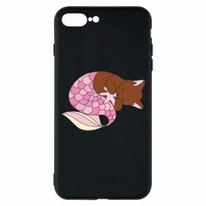 Etui na iPhone 8 Plus Syrenka Cat