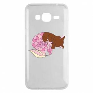 Etui na Samsung J3 2016 Syrenka Cat