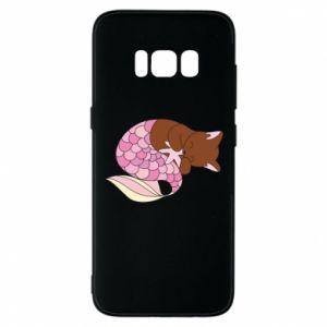 Etui na Samsung S8 Syrenka Cat
