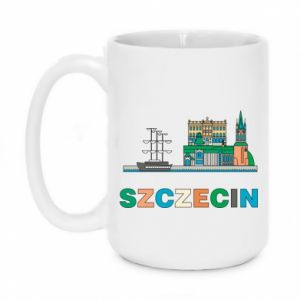 Kubek 450ml Miasto Szczecin - PrintSalon