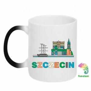 Kubek-kameleon Miasto Szczecin - PrintSalon