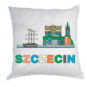 Poduszka Miasto Szczecin - PrintSalon