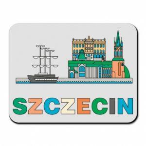 Podkładka pod mysz Miasto Szczecin - PrintSalon