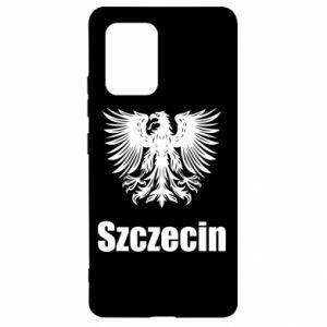 Damska koszulka V-neck Miasto Szczecin - PrintSalon