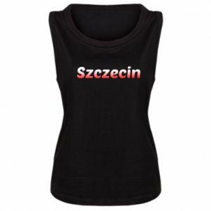 Damska koszulka bez rękawów Szczecin