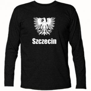 Koszulka z długim rękawem Szczecin - PrintSalon