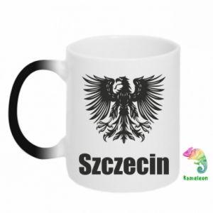 Kubek-kameleon Szczecin - PrintSalon