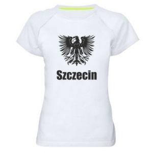 Damska koszulka sportowa Szczecin - PrintSalon