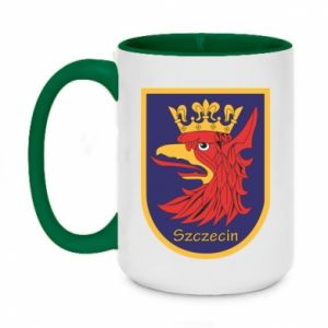 Two-toned mug 450ml Szczecin