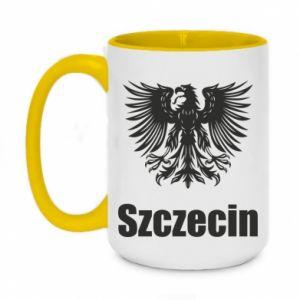 Kubek dwukolorowy 450ml Szczecin