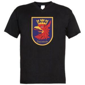 Męska koszulka V-neck Szczecin