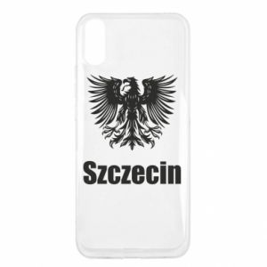 Męska koszulka V-neck Miasto Szczecin - PrintSalon