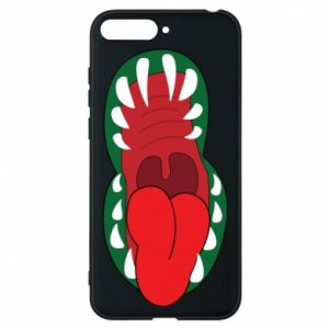 Phone case for Huawei Y6 2018 Monster jaw