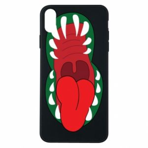 Phone case for iPhone Xs Max Monster jaw