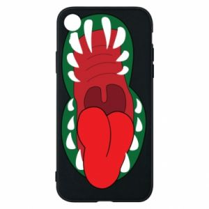 Phone case for iPhone XR Monster jaw