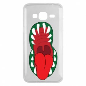 Phone case for Samsung J3 2016 Monster jaw
