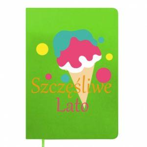 Notepad Happy summer