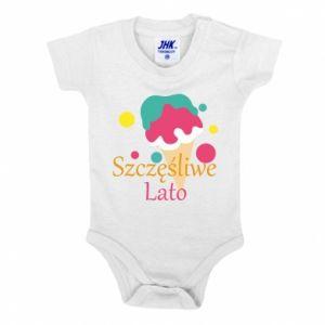 Baby bodysuit Happy summer