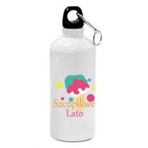 Water bottle Happy summer