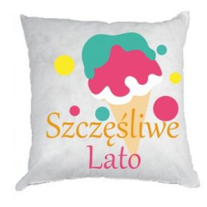 Pillow Happy summer