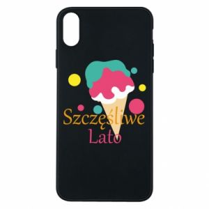 Phone case for iPhone Xs Max Happy summer