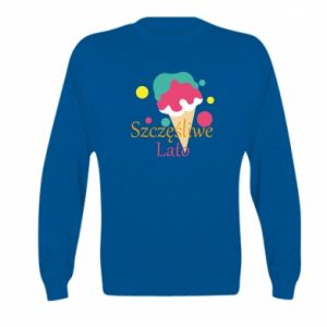 Kid's sweatshirt Happy summer