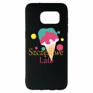Samsung S7 EDGE Case Happy summer