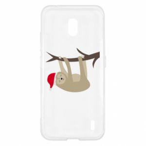 Etui na Nokia 2.2 Szczęśliwy leniwiec na gałęzi
