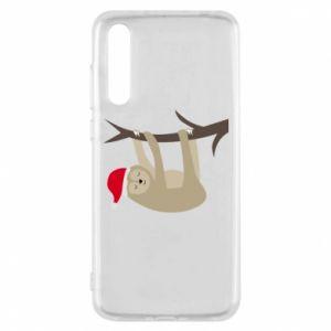 Etui na Huawei P20 Pro Szczęśliwy leniwiec na gałęzi
