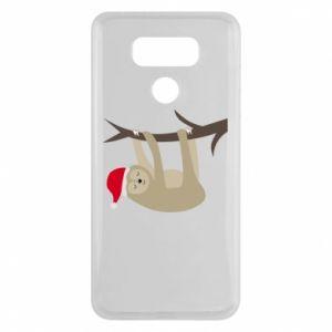 Etui na LG G6 Szczęśliwy leniwiec na gałęzi