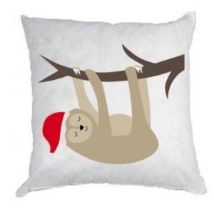 Poduszka Szczęśliwy leniwiec na gałęzi