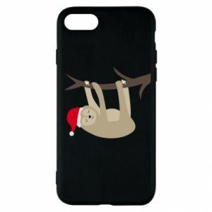 Etui na iPhone SE 2020 Szczęśliwy leniwiec na gałęzi
